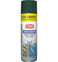 Spray antioxido verde ral 6005 500ml de c.r.c. caja de 6