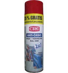 Spray antioxido rojo ral 3000 500ml de c.r.c. caja de 6 unidades