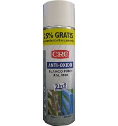 Spray antioxido blanco ral 9010 500ml de c.r.c. caja de 6