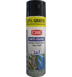 Spray antioxido negro ral 9005 500ml de c.r.c. caja de 6