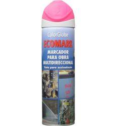 Spray marcador ecomark fucsia 500ml de c.r.c. caja de 12