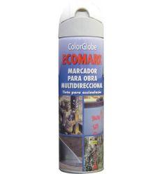 Spray marcador ecomark blanco 500ml de c.r.c. caja de 12