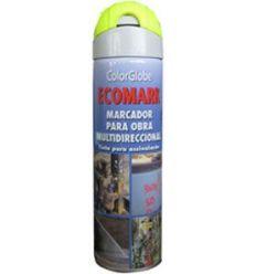 Spray marcador ecomark amarillo 500ml de c.r.c. caja de 12