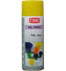 Spray pintura negro brillo ral9005 200ml de c.r.c. caja de 6
