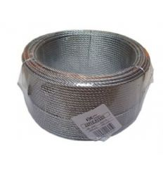 Cable galvanizado 04/6x07+1 de cables y eslingas caja de 100
