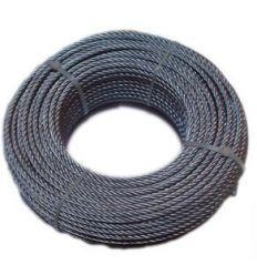 Cable galvanizado 10/6x19+1 de cables y eslingas caja de 100
