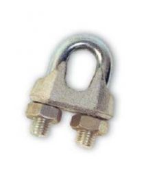 """Sujetacables galvanizados 1/4""""-5/6mm de cables y eslingas caja"""
