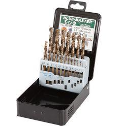 Jgo.brocas hss/c din338-1-10x0,5mm dc010 de bluemaster