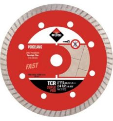Disco diamante tcr 31972 115mm superpro de rubi