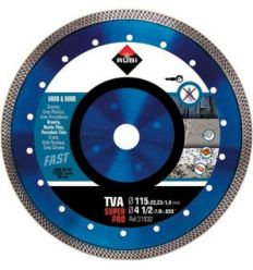 Disco diamante tva 31932 115mm superpro de rubi