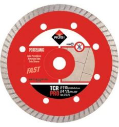 Disco diamante tcr 31970 115mm pro de rubi