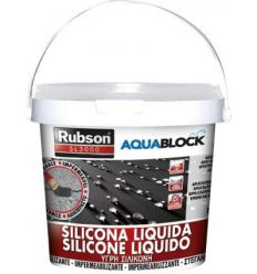 Silicona liquida sl3000 1139782-5kg negr de rubson