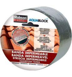 Banda impermeable bi 2500 646248 5mx10cm de rubson