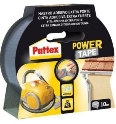 Pattex power tape 1669712-50x10m gris de pattex