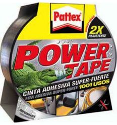 Pattex power tape 1669710 50x25 gris de pattex