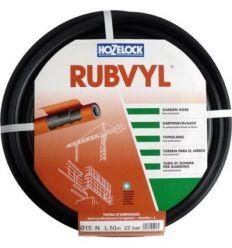 Mang.rubvil 105250/25mm goma negra r/50m de hozelock
