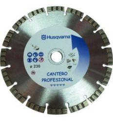 Disco cantero pro 543101345 230mmx22,2 de husqvarna