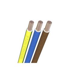 Hilo linea flexible marron 1x6 de ibercable caja de 100 unidades