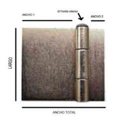 Bisagra soldar libr.besl10 100x85(128) de recense