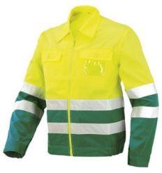 Cazadora a.v.verde/amarillo 8546av t-xxl de starter
