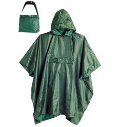 Poncho impermeable pvc verde 1510 t-u de starter