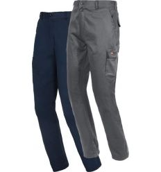 Pantalon easy stretch 8038b gris t-l de starter