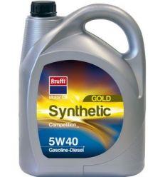 Aceite sintetico 05w40 gold g/d 55765-5l de krafft