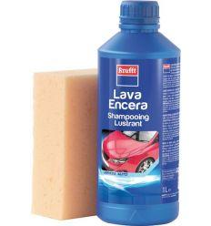Lava-encera 1lt + esponja 14075 de krafft