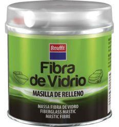 Masilla repar.c/fibra vidrio 14462 250gr de krafft