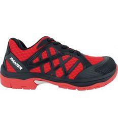 Zapato argos s1p t-40 rojo de panter