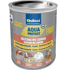 Silicona ms liquida 3079 1kg terracota de quilosa caja de 6