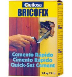 Bricofix cemento 88195-1,3kg rapido de quilosa caja de 10