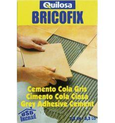Bricofix cemento cola 88104-1,5kg gris de quilosa caja de 10