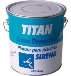 Pintura piscina sirena al disolvente 04l de titan caja de 2