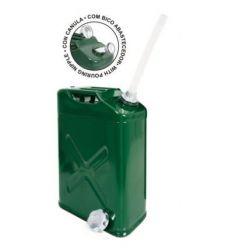 Bidon metalico c/canula 602375-10 litros de tayg