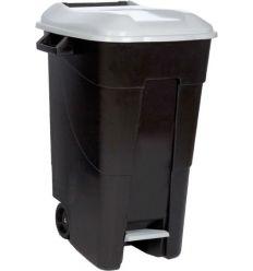 Contenedor negro pedal 423000 120l t/gri de tayg