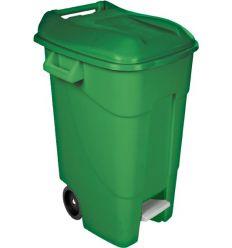 Contenedor verde pedal 426001 120l t/ver de tayg
