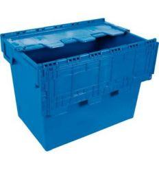 Euro caja c/tapa 6444-t 600x400x440 75lt de tayg
