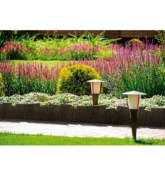Bordura land art border 20x60 marron de nortene caja de 4