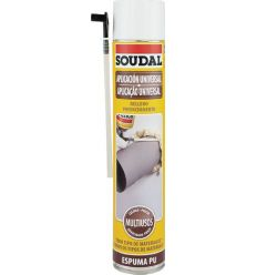 Espuma poliuret.750ml manual 115797 de soudal caja de 12