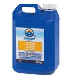 Ph liquido piscinas 6kg 203206 de quimicamp caja de 4 unidades