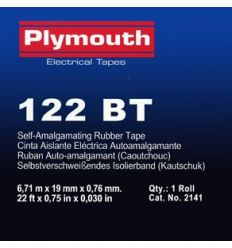 Cinta autosold.bt 2141-6,7mx19mm negra de plymouth