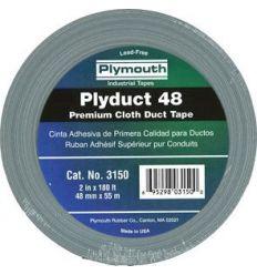 Cinta americana 3150-55mx48mm grisplata de plymouth
