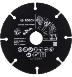 Disco multiwheel carburo 125x22,4mm de bosch construccion /
