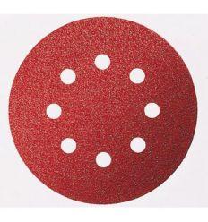 Lija disco 8 per.c/vel.125x800 g120 bl5 de bosch construccion /