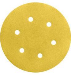 Lija disco 6 per.c/vel.150mm g120 bl50 de bosch construccion /
