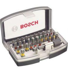Set profesional atornillar 32 piezas de bosch construccion /