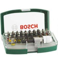 Set atornillar 32 piezas c/puntas seg. de bosch bricolaje
