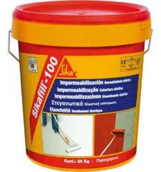 Reves.acrilico sikafill-100 20kg rojo te de sika