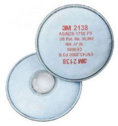 Filtro 2138 p3 vo ga p/mascara 6200/6800 de 3m caja de 20